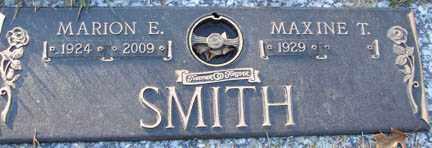SMITH, MARION E. - Minnehaha County, South Dakota | MARION E. SMITH - South Dakota Gravestone Photos