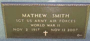SMITH, MATHEW - Minnehaha County, South Dakota | MATHEW SMITH - South Dakota Gravestone Photos