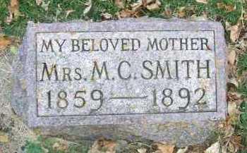 SMITH, MRS. M. C. - Minnehaha County, South Dakota   MRS. M. C. SMITH - South Dakota Gravestone Photos