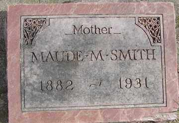 SMITH, MAUDE M. - Minnehaha County, South Dakota | MAUDE M. SMITH - South Dakota Gravestone Photos