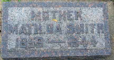SMITH, MATILDA - Minnehaha County, South Dakota | MATILDA SMITH - South Dakota Gravestone Photos