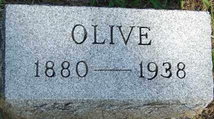 SMITH, OLIVE - Minnehaha County, South Dakota | OLIVE SMITH - South Dakota Gravestone Photos