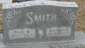SMITH, PAUL W. - Minnehaha County, South Dakota | PAUL W. SMITH - South Dakota Gravestone Photos