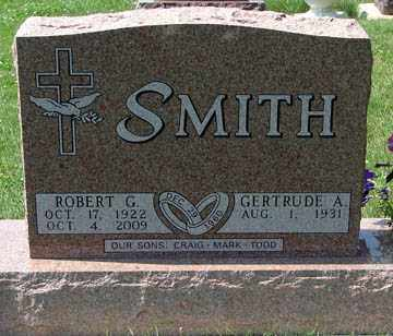 SMITH, GERTRUDE A. - Minnehaha County, South Dakota   GERTRUDE A. SMITH - South Dakota Gravestone Photos