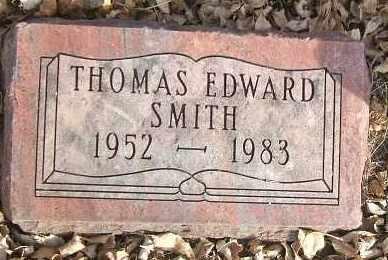 SMITH, THOMAS EDWARD - Minnehaha County, South Dakota   THOMAS EDWARD SMITH - South Dakota Gravestone Photos