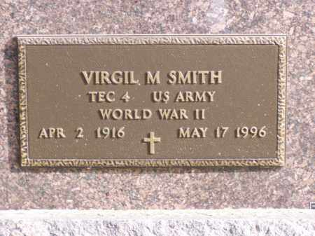 SMITH, VIRGIL M. - Minnehaha County, South Dakota | VIRGIL M. SMITH - South Dakota Gravestone Photos