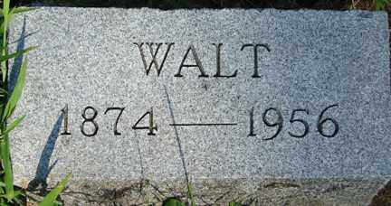 SMITH, WALT - Minnehaha County, South Dakota | WALT SMITH - South Dakota Gravestone Photos