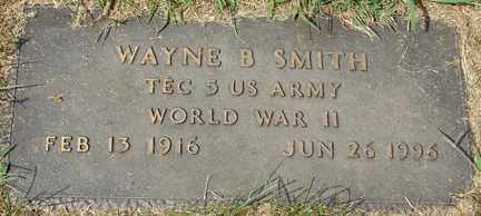 SMITH, WAYNE B. (WWII) - Minnehaha County, South Dakota | WAYNE B. (WWII) SMITH - South Dakota Gravestone Photos