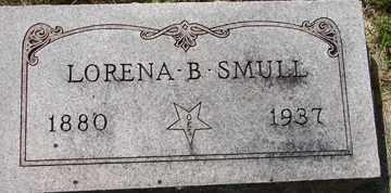 SMULL, LORENA B. - Minnehaha County, South Dakota   LORENA B. SMULL - South Dakota Gravestone Photos