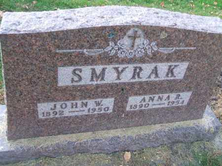 SMYRAK, ANNA R. - Minnehaha County, South Dakota | ANNA R. SMYRAK - South Dakota Gravestone Photos