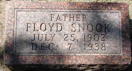 SNOOK, FLOYD - Minnehaha County, South Dakota   FLOYD SNOOK - South Dakota Gravestone Photos