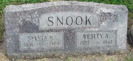 SNOOK, WESLEY A. - Minnehaha County, South Dakota | WESLEY A. SNOOK - South Dakota Gravestone Photos