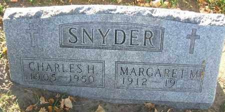 SNYDER, CHARLES H. - Minnehaha County, South Dakota | CHARLES H. SNYDER - South Dakota Gravestone Photos