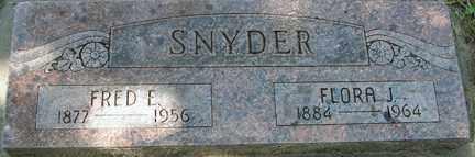 SNYDER, FRED E. - Minnehaha County, South Dakota | FRED E. SNYDER - South Dakota Gravestone Photos