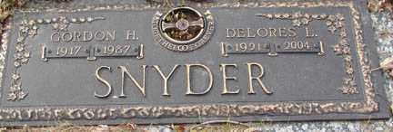 ANDERSON SNYDER, DELORES LAFAYE - Minnehaha County, South Dakota   DELORES LAFAYE ANDERSON SNYDER - South Dakota Gravestone Photos