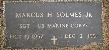SOLMES, MARCUS H. JR. - Minnehaha County, South Dakota   MARCUS H. JR. SOLMES - South Dakota Gravestone Photos