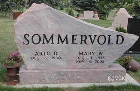 SOMMERVOLD, ARLO D. - Minnehaha County, South Dakota | ARLO D. SOMMERVOLD - South Dakota Gravestone Photos