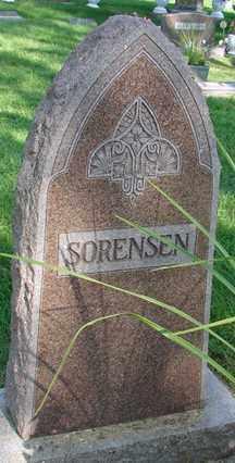 SORENSEN, FAMILY MARKER - Minnehaha County, South Dakota | FAMILY MARKER SORENSEN - South Dakota Gravestone Photos