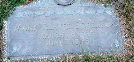 REAVES SORENSEN, MARY - Minnehaha County, South Dakota | MARY REAVES SORENSEN - South Dakota Gravestone Photos