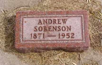 SORENSON, ANDREW - Minnehaha County, South Dakota | ANDREW SORENSON - South Dakota Gravestone Photos
