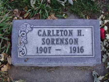 SORENSON, CARLETON HENRY - Minnehaha County, South Dakota   CARLETON HENRY SORENSON - South Dakota Gravestone Photos