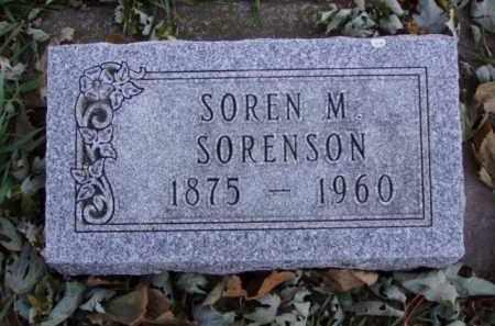 SORENSON, SOREN M. - Minnehaha County, South Dakota | SOREN M. SORENSON - South Dakota Gravestone Photos