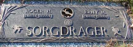 DEPEW SORGDRAGER, ERNESTINE M, - Minnehaha County, South Dakota | ERNESTINE M, DEPEW SORGDRAGER - South Dakota Gravestone Photos