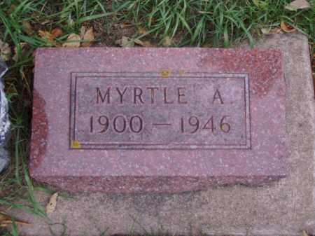 SORKILMO, MYRTLE A. - Minnehaha County, South Dakota | MYRTLE A. SORKILMO - South Dakota Gravestone Photos