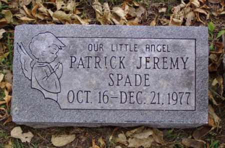 SPADE, PATRICK JEREMY - Minnehaha County, South Dakota | PATRICK JEREMY SPADE - South Dakota Gravestone Photos