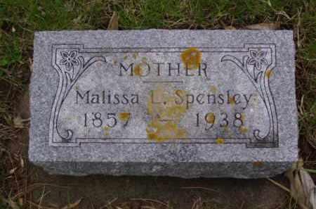 SPENSLEY, MALISSA L. - Minnehaha County, South Dakota | MALISSA L. SPENSLEY - South Dakota Gravestone Photos