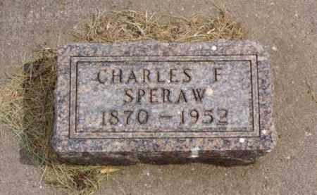 SPERAW, CHARLES F. - Minnehaha County, South Dakota | CHARLES F. SPERAW - South Dakota Gravestone Photos