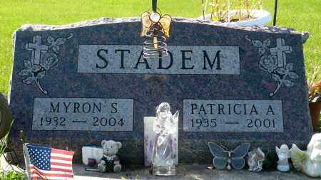 STADEM, PATRICIA A. - Minnehaha County, South Dakota | PATRICIA A. STADEM - South Dakota Gravestone Photos