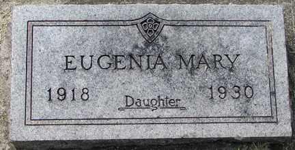 STAMP, EUGENIA MARY - Minnehaha County, South Dakota | EUGENIA MARY STAMP - South Dakota Gravestone Photos