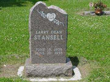STANSELL, LARRY DEAN - Minnehaha County, South Dakota | LARRY DEAN STANSELL - South Dakota Gravestone Photos