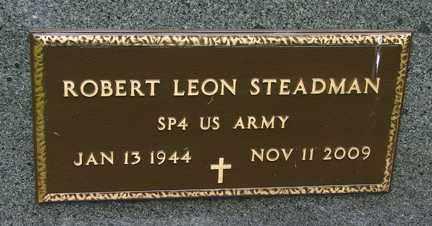 STEADMAN, ROBERT LEON (MILITARY) - Minnehaha County, South Dakota | ROBERT LEON (MILITARY) STEADMAN - South Dakota Gravestone Photos