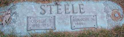 STEELE, ORVILLE S. - Minnehaha County, South Dakota | ORVILLE S. STEELE - South Dakota Gravestone Photos