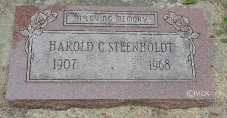 STEENHOLDT, HAROLD C. - Minnehaha County, South Dakota | HAROLD C. STEENHOLDT - South Dakota Gravestone Photos