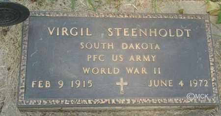 STEENHOLDT, VIRGIL - Minnehaha County, South Dakota | VIRGIL STEENHOLDT - South Dakota Gravestone Photos