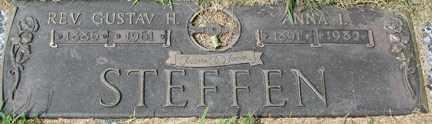 STEFFEN, GUSTAV H. REV - Minnehaha County, South Dakota | GUSTAV H. REV STEFFEN - South Dakota Gravestone Photos