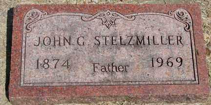 STELZMILLER, JOHN G. - Minnehaha County, South Dakota   JOHN G. STELZMILLER - South Dakota Gravestone Photos