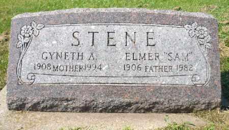 STENE, GYNETH A. - Minnehaha County, South Dakota   GYNETH A. STENE - South Dakota Gravestone Photos