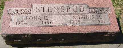STENSRUD, SOPHUS M. - Minnehaha County, South Dakota   SOPHUS M. STENSRUD - South Dakota Gravestone Photos