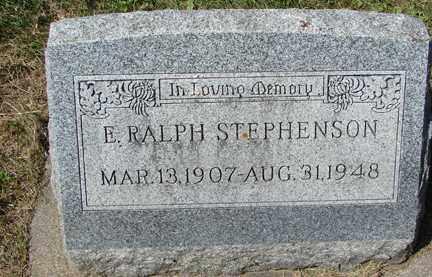 STEPHENSON, E. RALPH - Minnehaha County, South Dakota | E. RALPH STEPHENSON - South Dakota Gravestone Photos