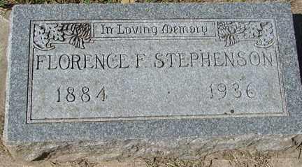 STEPHENSON, FLORENCE F. - Minnehaha County, South Dakota | FLORENCE F. STEPHENSON - South Dakota Gravestone Photos