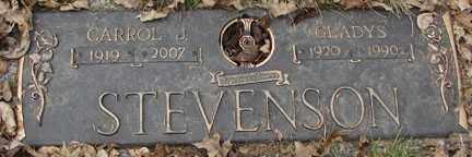 EGGERS STEVENSON, GLADYS - Minnehaha County, South Dakota | GLADYS EGGERS STEVENSON - South Dakota Gravestone Photos