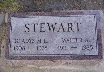 STEWART, GLADYS M.L. - Minnehaha County, South Dakota | GLADYS M.L. STEWART - South Dakota Gravestone Photos