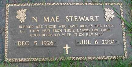 STEWART, NELLIE MAE - Minnehaha County, South Dakota | NELLIE MAE STEWART - South Dakota Gravestone Photos