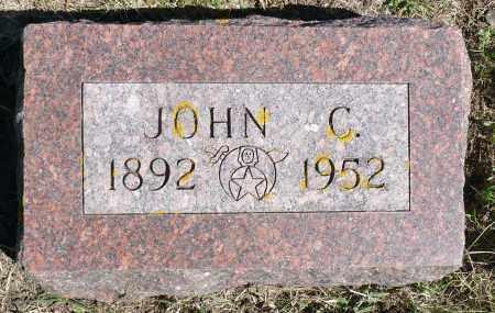 STIEGAR, JOHN C. - Minnehaha County, South Dakota   JOHN C. STIEGAR - South Dakota Gravestone Photos