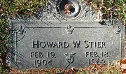 STIER, HOWARD W. - Minnehaha County, South Dakota | HOWARD W. STIER - South Dakota Gravestone Photos
