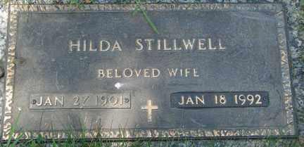 STILLWELL, HILDA - Minnehaha County, South Dakota | HILDA STILLWELL - South Dakota Gravestone Photos